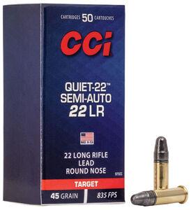 quiet-22 semi-auto packaging
