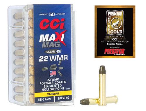 CCI Maxi Mag with Predator Badge