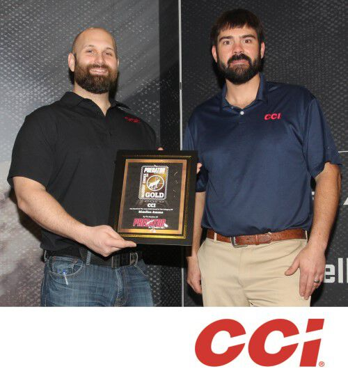CCI receiving PredatorXtremeGoldAward