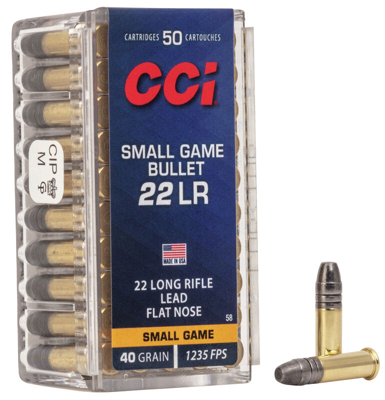 Small Game Bullet